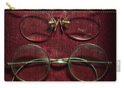 Optometry - Vintage Eyeglasses Carry-all Pouch