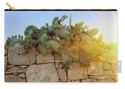 Opuntia Cactus In The Sunset Carry-all Pouch