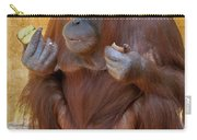 Orang Utang Eating Carry-all Pouch