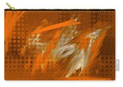 Orange Abstract Art - Orange Filter Carry-all Pouch