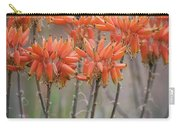 Orange Aloe  Carry-all Pouch