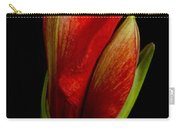Orange Amaryllis Bloom Carry-all Pouch