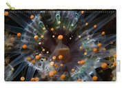 Orange And Black Anemone, Komodo Carry-all Pouch