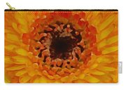 Orange And Black Gerber Center Carry-all Pouch