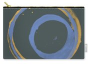 Orange And Blue 3 Carry-all Pouch