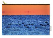 Orange And Blue Morning 4  Carry-all Pouch