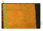 Orange And Brown Carry-all Pouch by Michelle Calkins