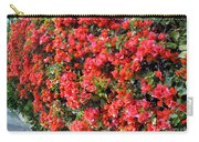Orange And Colral-pink Flowers 2 Carry-all Pouch