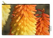 Orange And Gold Flower  Carry-all Pouch
