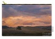 Orange And Purple Cloud Landscape Carry-all Pouch