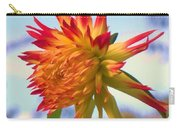 Orange And Yellow Dahlia Carry-all Pouch