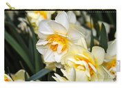 Orange And Yellow Double Daffodil Carry-all Pouch