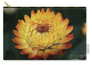 Orange And Yellow Strawflower Carry-all Pouch