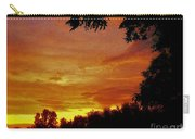 Orange And Yellow Sunset Carry-all Pouch