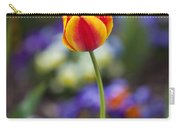 Orange And Yellow Tulip Carry-all Pouch