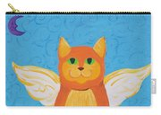 Orange Angel Cat Carry-all Pouch