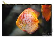 Orange Aquarium Fish In Zoo Carry-all Pouch