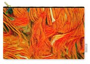 Orange Art Carry-all Pouch by Colette V Hera Guggenheim