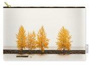 Orange Autumn Carry-all Pouch
