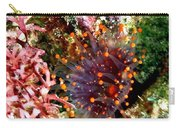 Orange Ball Corallimorph Anemone Carry-all Pouch