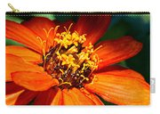 Orange Bloom Carry-all Pouch