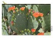 Orange Blossom Cactus  Carry-all Pouch