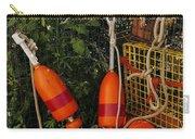 Orange Buoys, Nautical, Marblehead, Ma Carry-all Pouch