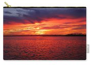 Orange Burst At Daybreak Carry-all Pouch