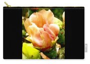 Orange Cactus Blossom Carry-all Pouch