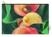 Orange Calla Lily Carry-all Pouch