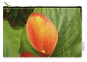 Orange Calla Mix Carry-all Pouch