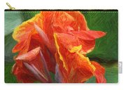 Orange Canna Art Carry-all Pouch