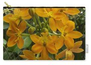 Orange Cluster Carry-all Pouch