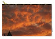 Orange Colored Sky Carry-all Pouch