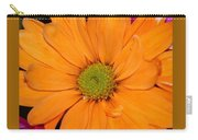 Orange Crush Daisy Carry-all Pouch