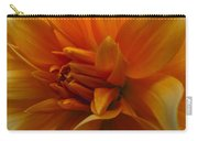 Orange Dahlia Carry-all Pouch