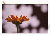 Orange Daisey Carry-all Pouch