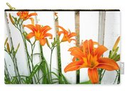 Orange Daylily At Colonial Williamsburg Carry-all Pouch