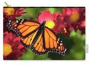 Orange Drift Monarch Butterfly Carry-all Pouch