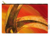 Orange Expressions Carry-all Pouch by Sharon Cummings
