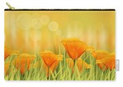 Orange Field Carry-all Pouch