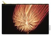 Orange Firework Carry-all Pouch