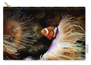 Orange Fish In Sea Anemones Carry-all Pouch