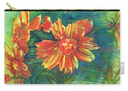 Orange Flower 1 Carry-all Pouch