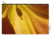 Orange Flower Stamen Carry-all Pouch
