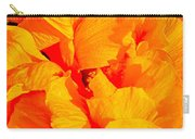 Orange Frills Carry-all Pouch
