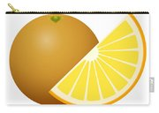 Orange Fruit Carry-all Pouch