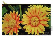 Orange Gerbera Daisies Carry-all Pouch