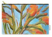 Orange Gladiolus In Vase Carry-all Pouch