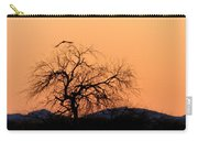 Orange Glow Sunset In The Desert Carry-all Pouch